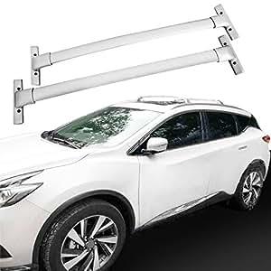 Amazon Com Heka Pair Luggage Cross Bar For Nissan Murano