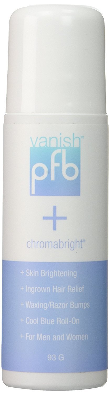 PFB Vanish plus Chromabright for Ingrown Hair and Skin Lightening, 93 grams PFB CH