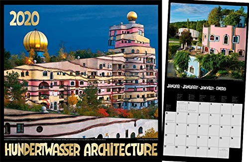 Hundertwasser Broschürenkalender Architektur 2020  Das Original