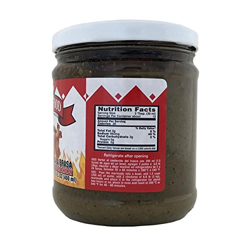 Amazon.com : Peru Food Aderezo Pollo a La Brasa Marinade for Peruvian Roasted Chicken 13.5 Oz. : Gourmet Marinades : Grocery & Gourmet Food