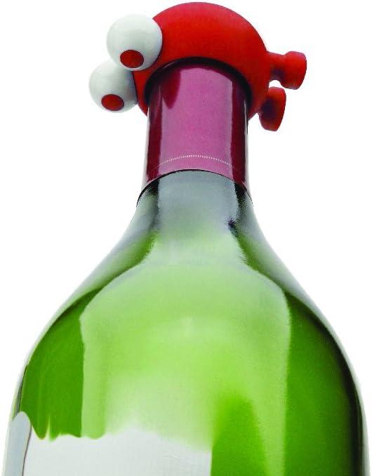 White Stainless Steel 20 x 15 x 9 cm Joie Bottle Closure Wine Watcher