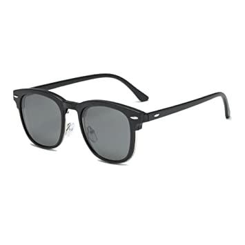 TL-Sunglasses Imán Polaroid Gafas polarizadas en Clip Clip Clip de Gafas Gafas de Espejo Hombres Personalizada Receta miopía, 221C8ZB C1: Amazon.es: ...
