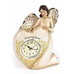 Manual Woodworkers & Weavers 104481 Clock - Amazing Grace Angel - 6