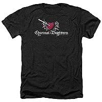 Trevco Men's Californication Short Sleeve T-Shirt, Dogtown Heather Black, Medium