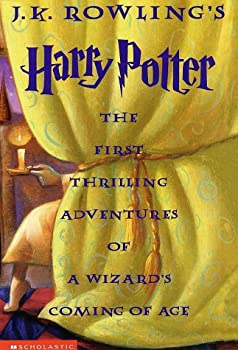 The Harry Potter trilogy: The Philosopher's Stone; The Chamber of Secrets; The Prisoner of Azkaban 0439324661 Book Cover