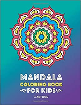 Mandala Coloring Book For Kids Easy Mandalas For Boys Girls Kids