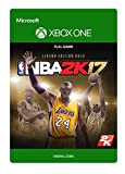 NBA 2K17 - Legends Gold - Xbox One Digital Code