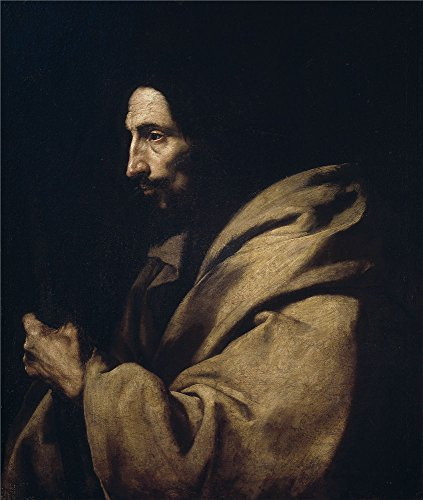 Oil Painting 'Ribera Jose De San Judas Tadeo 1630 35 ' Printing On Polyster Canvas , 30 X 36 Inch / 76 X 90 Cm ,the Best Home Theater Gallery - Repair San Glasses Jose