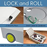 ECR4Kids Lock and Roll Portable Under-Bed