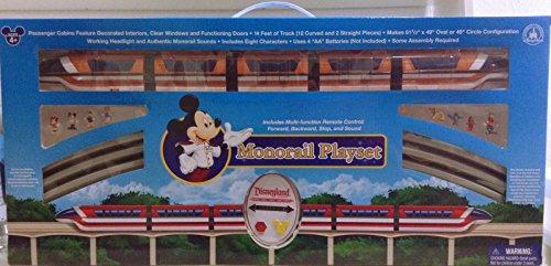 NEW Walt Disney World Deluxe Monorail Train Playset Toy Epcot Scale Model Train (Walt Disney Train)