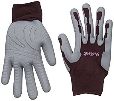 Carhartt Women's Durable Pro Palm Work Glove With Extreme Grip, Dusty Plum, M