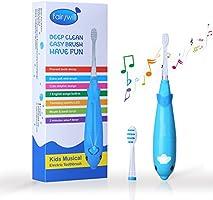 Fairywill - Cepillo de dientes electrico azul