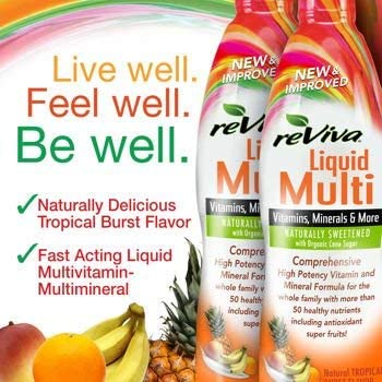 Liquid Multivitamin 2 Bottles