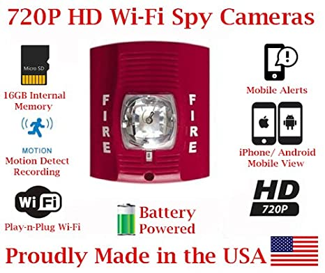 Amazon.com : SecureGuard 1080P HD WiFi Battery Powered ...