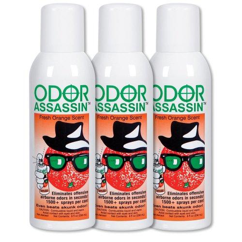Odor Assassin Orange, Set of 3 by ODOR ASSASSIN