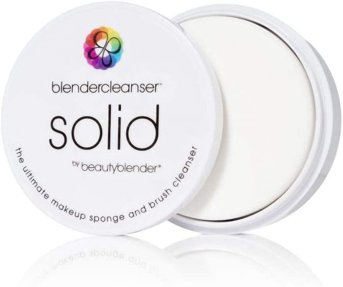 BEAUTYBLENDER BLENDERCLEANSER Lavender Solid for Cleaning Makeup Sponges, Brushes & Applicators, 1 oz