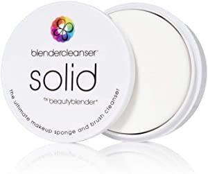 BEAUTYBLENDER BLENDERCLEANSER Lavender Solid for Cleaning Makeup Sponges, Brushes & Applicators, 1 oz