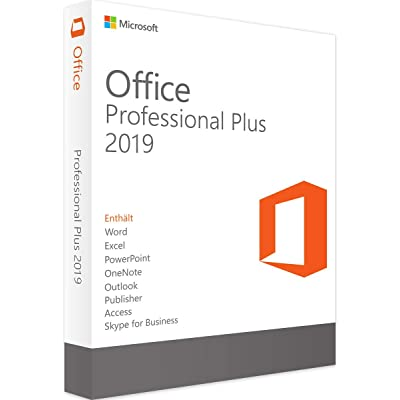 MS Office 2019 Professional PLUS | Licencia de por vida | Envío por mensaje de amazon