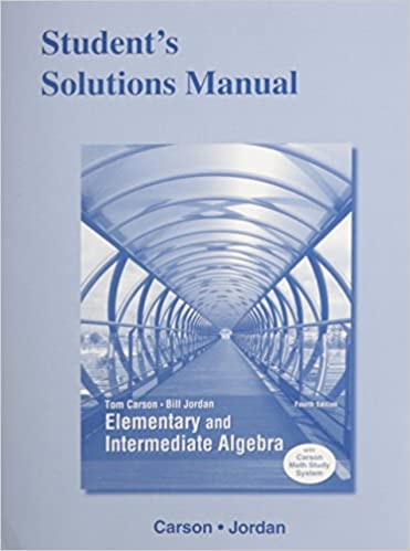 Students solutions manual for elementary and intermediate algebra students solutions manual for elementary and intermediate algebra 4th edition fandeluxe Image collections