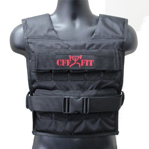 CFF Adjustable Weighted Vest 20 kg/44 lbs by CFF