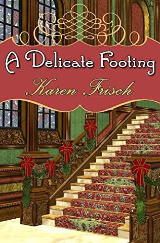 book cover of A Delicate Footing