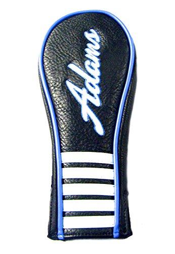 Adams Hybrid Headcovers (Adams Tight Lies 2 Hybrid Headcover (Black/Blue) 2015 Golf)