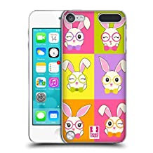 Head Case Designs Tiled Sofie The Bunny Hard Back Case for Apple iPod Touch 4G 4th Gen