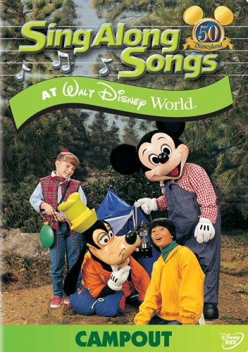 Sing Along Songs - Campout at Walt Disney - Disney Shops At World
