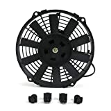 Zirgo 10213 8'' 605 fCFM High Performance Blu Cooling Fan