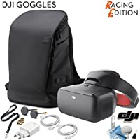 DJI Goggles RE Racing Edition, FPV Headset, with DJI Carry More Backpack