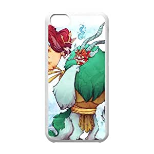 iPhone 5c Cell Phone Case White Child of Light 006 Mplbs