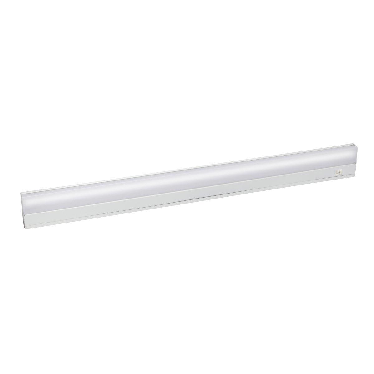 Kichler 10044WH Fluorescent Direct Wire Fluorescent 28W, White