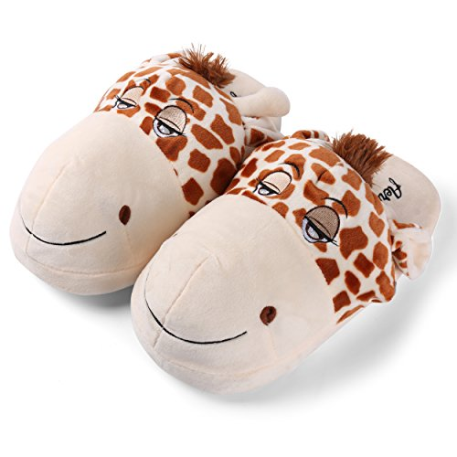 On Fun Slip Plush Slipper Family Bedroom Slippers House Soft Comfy Warm Child Animal Indoor Cute xRHTSq0ww