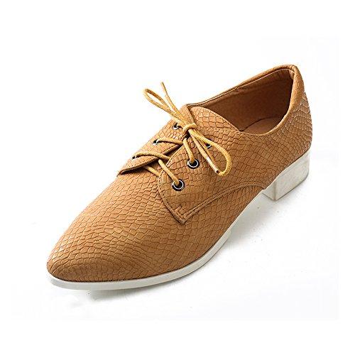 de para Albaricoque Alexis Derby mujer cordones Zapatos Leroy xwCnB7qOt