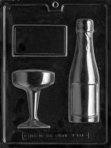 Chocolate Champagne Bottle - 6