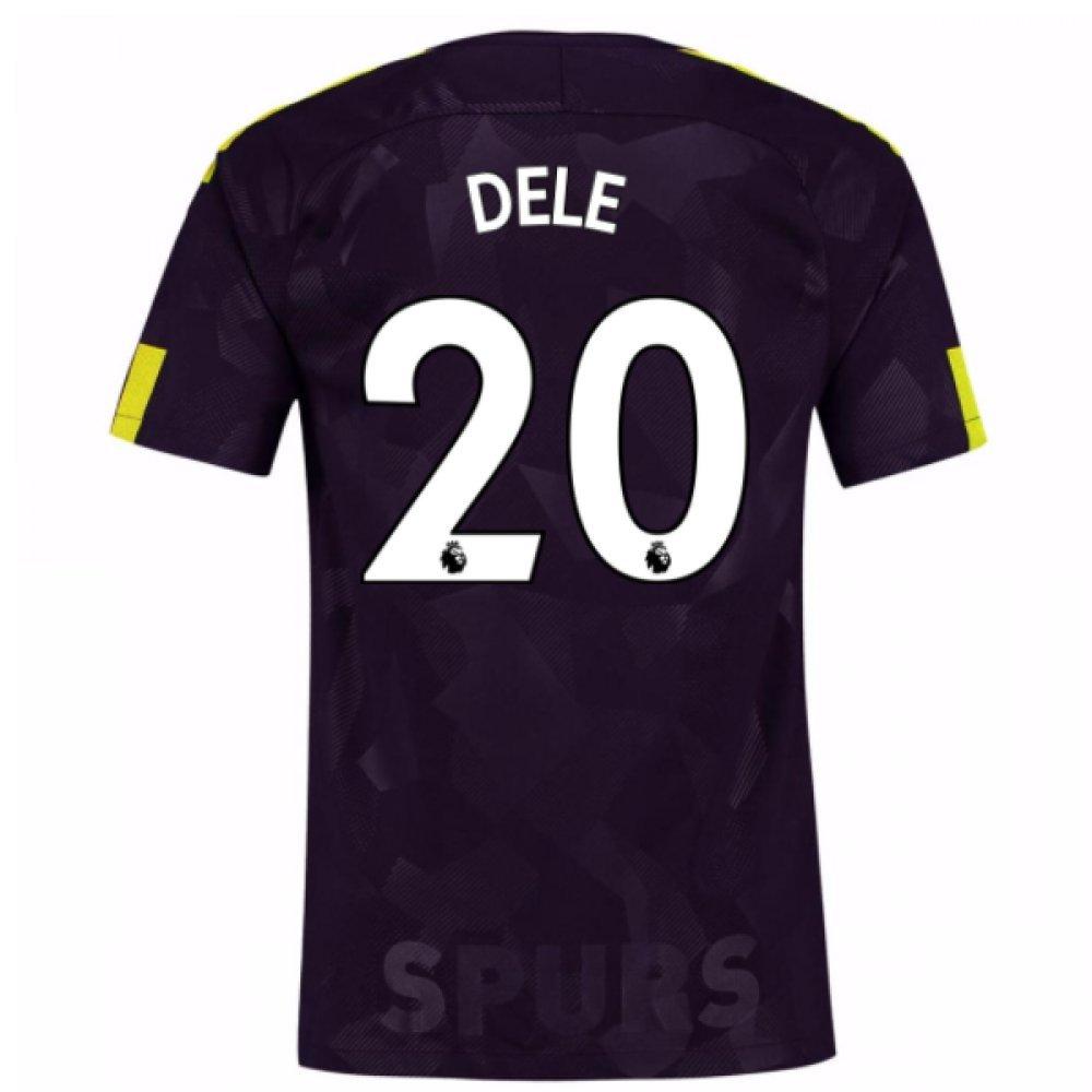 2017-18 Tottenham Third Football Soccer T-Shirt Trikot (DELE Alli 20)