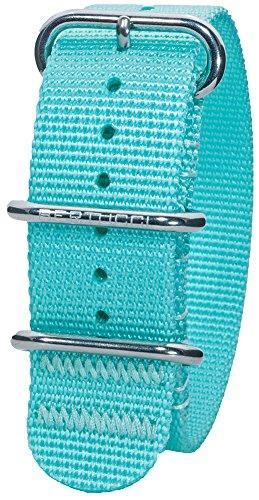 Price comparison product image Bertucci DX3 B-133 Comet Blue 22mm Nylon Watch Band