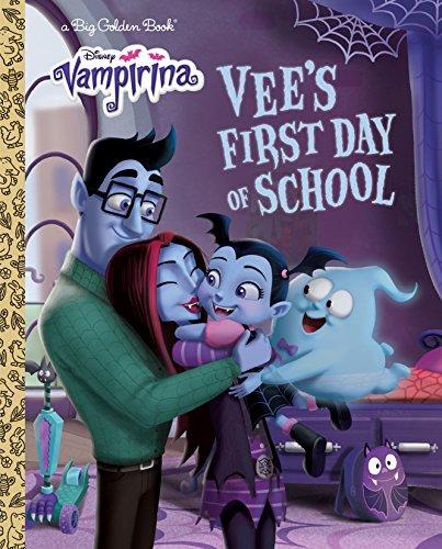Vee's First Day of School (Disney Junior: Vampirina) (Big Golden Book)