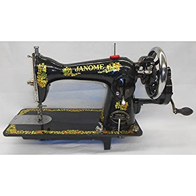 Janome 40 Hand Crank Sewing Machine New Vintage Hand Crank Sewing Machine