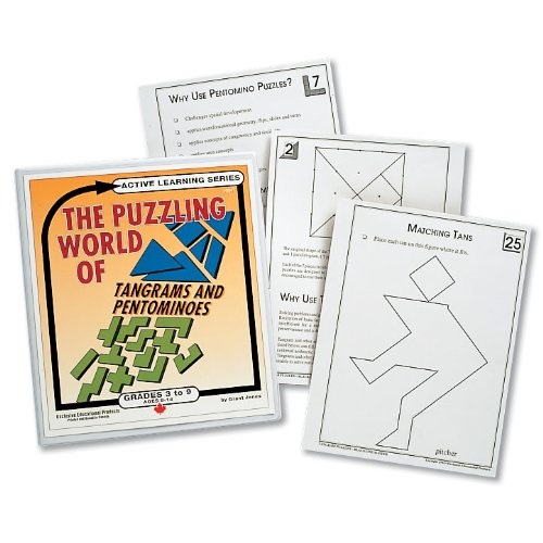 The Puzzling World of Tangrams and Pentominoes, (1526) (Set Pentominoes)