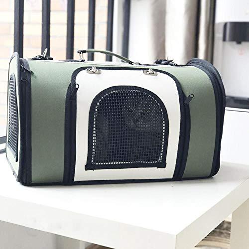 QKEMM Haustiertragetasche für Hunde und Katzen Auto Verschleißfest Gehen Tragbar aus Hundetasche Hundetragetasche Hunde…