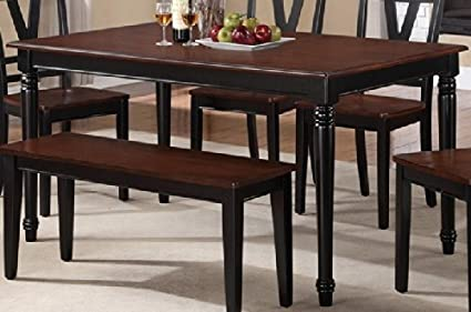 Poundex PDEX F2386 Dining Table, Multicolor