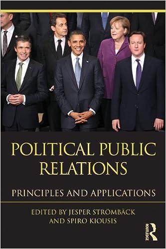 political public relations principles and applications
