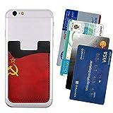 USSR Flag Phone Card Holder, Stick-on ID Credit