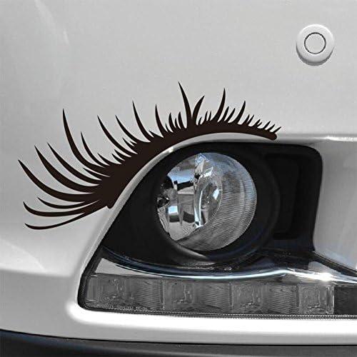 // Set von 2 Wimpern vinyl car sticker 21x5cm // high quality product // spitzen qualit/ät !!!