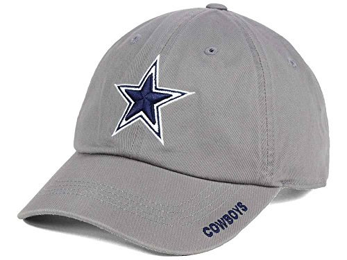 Dallas Cowboys NFL Mens Basic Slouch Cap, Charcoal, OSAFA