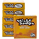 Sticky Bumps Warm/Tropical Water Surfboard Wax 6 Pack