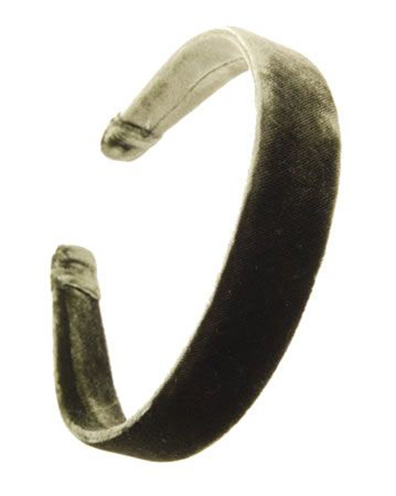 L. Erickson USA 1'' Ultracomfort Headband - Silk Velvet Holly