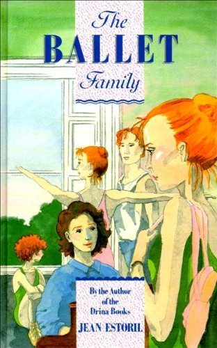 book cover of The Ballet Family