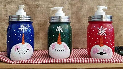 Christmas snowman Soap Dispenser -